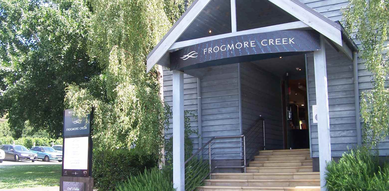 Frogmore Creek Vineyard